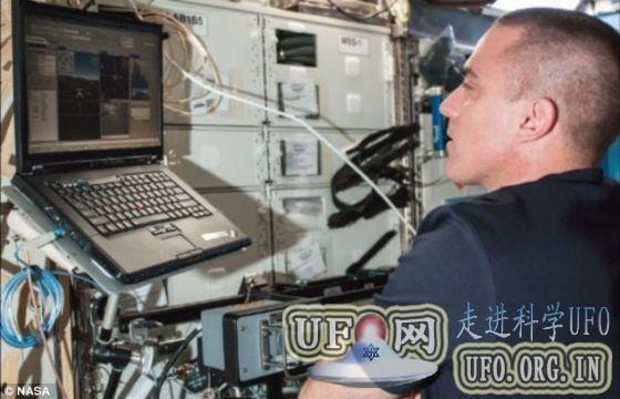 宇航员首次太空遥控地面机器人(图)的图片 第2张