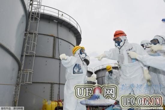 福岛核电站检测出史上最高辐射强度值的图片