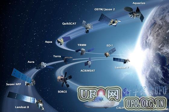 每日卫星照:美国宇航局地球观测卫星舰队的图片
