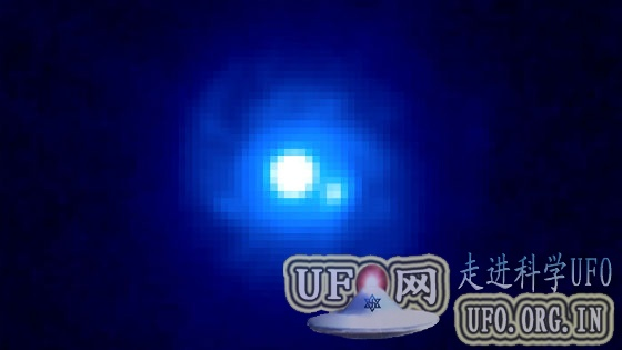 美空间望远镜伽马射线波段观测引力透镜效应的图片 第1张