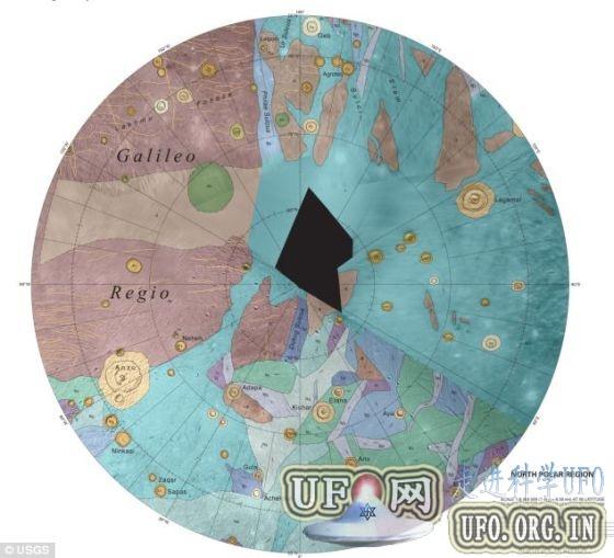 木卫三发现400年后首张完整地图问世的图片 第3张