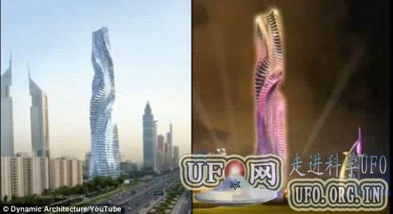 意大利建筑师设计旋转360度摩天大楼(图)的图片 第1张
