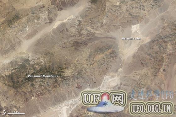 每日卫星照:美国加州死谷热浪滚滚的图片 第2张