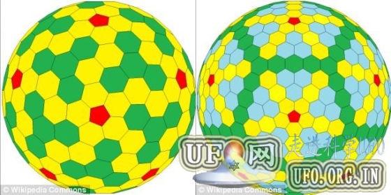 科学家400年来首次发现新立体形态 类似足球的图片 第1张