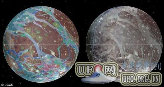 木卫三发现400年后首张完整地图问世的图片 第1张