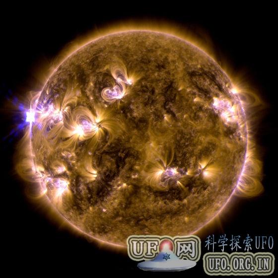太阳爆发X级耀斑:今年最强未正对地球(图)的图片