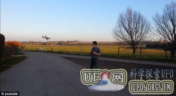 先进无人四旋翼直升机可自动追踪拍摄的图片