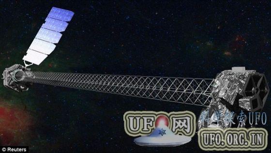 核光谱望远镜阵列拍死亡恒星:似上帝之手的图片 第2张