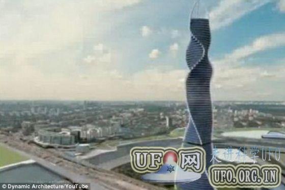 意大利建筑师设计旋转360度摩天大楼(图)的图片 第2张