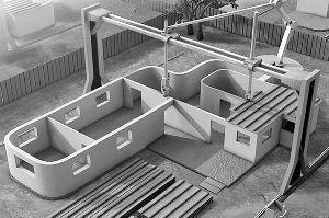 美国研发3D打印术:24小时内造232平米楼房的图片 第1张