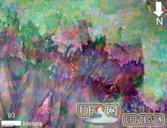 火星表面发现存液态水最有力证据的图片 第2张