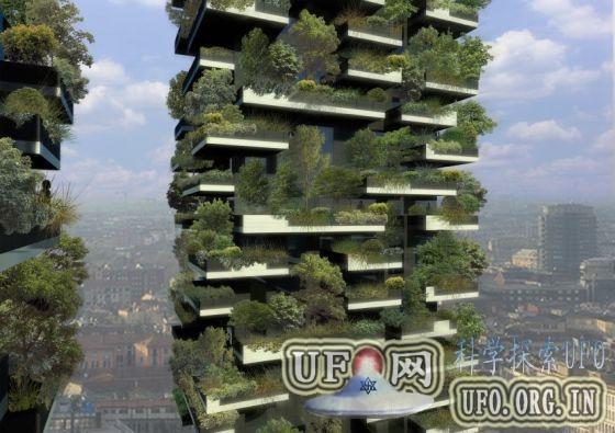米兰打造垂直森林双子塔楼:浇灌使用生活污水的图片 第2张
