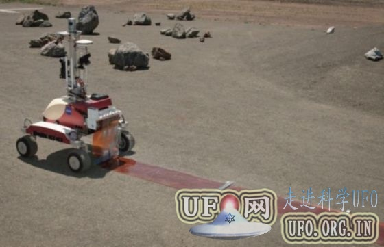 宇航员首次太空遥控地面机器人(图)的图片 第4张