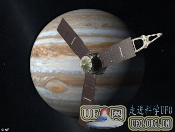 朱诺探测器传回首幅地球照片:2016年抵达木星的图片 第2张