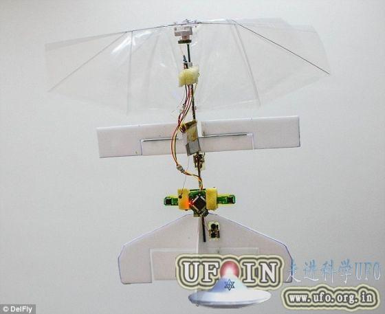 世界首架超轻型自行驾驶微型飞机问世(图)的图片 第1张