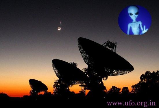 科学家向神秘外星人信号来源地发送微博的图片