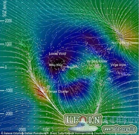 科学家绘制宇宙3D地图:涵盖30亿光年太空区域的图片 第4张