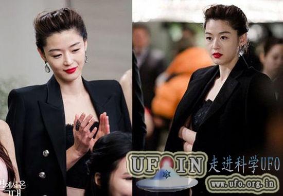 韩剧《来自星星的你》全智贤剧中多款造型的图片 第5张