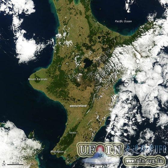 每日卫星照:新西兰遭遇70年来最严重干旱的图片 第1张