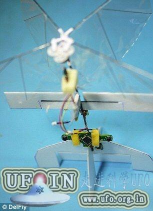 世界首架超轻型自行驾驶微型飞机问世(图)的图片 第3张