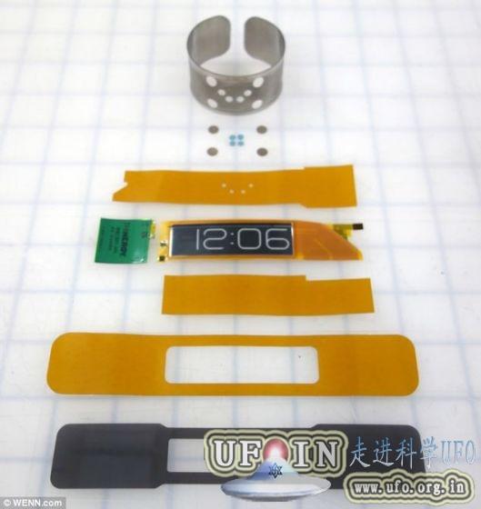 美公司打造世界最薄腕表:厚度仅0.8毫米的图片 第3张