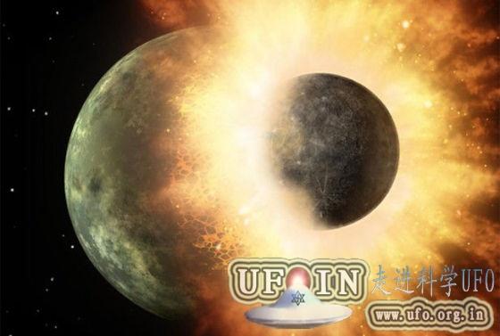 研究显示月球年龄或比原先设想年轻1亿年的图片
