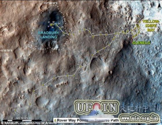 好奇号未在火星发现甲烷:不能提供生命证据的图片 第2张