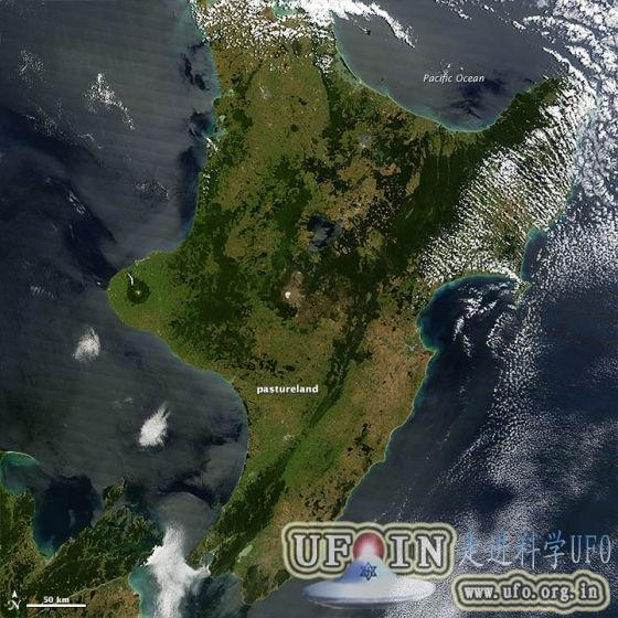 每日卫星照:新西兰遭遇70年来最严重干旱的图片 第2张
