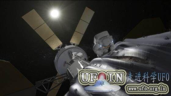 美国宇航局策划俘获小行星:拉至稳定轨道的图片