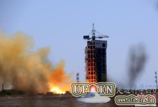 中国成功发射高分一号:搭载多颗小卫星的图片