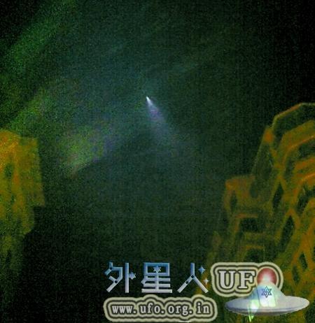 1995年7月26日重大光团扇状UFO事件,百万人目击您也是其中之一吗?的图片