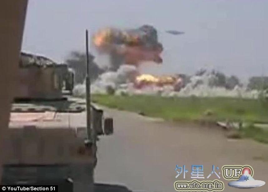 UFO轰炸塔利班基地是真的吗?美军拍UFO袭击阿富汗视频真假揭露的图片