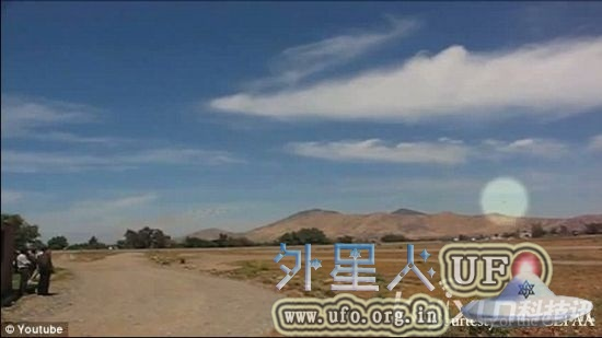 智利上空惊现UFO,网友成功拍到UFO视频引发热烈讨论的图片