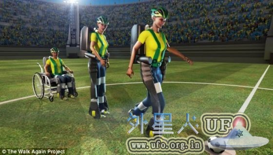 """2014年巴西世界杯首球""""机械战甲""""的研发之路揭秘的图片 第2张"""