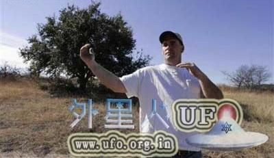 美国得克萨斯州居民称目击UFO,UFO非常大无任何焊接点的图片 第2张