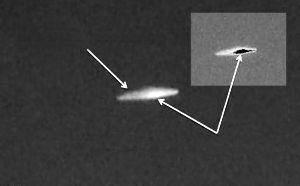 智利政府公布UFO照片:智利官方证实UFO存在(2014年7月10日)的图片