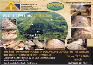 欧洲波斯尼亚金字塔群未解之谜:太阳金字塔比埃及大金字塔大3倍的图片