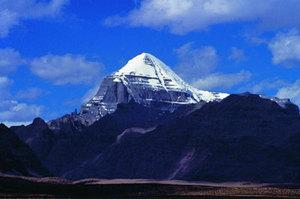 喀喇昆仑山乔戈里峰金字塔山脉K2与埃及金字塔群之谜的图片