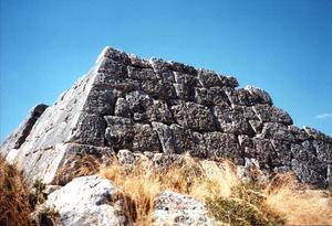 希腊海兰尼孔金字塔的图片