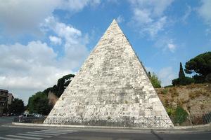 意大利罗马市切斯提亚金字塔Pyramid of Cestius的图片