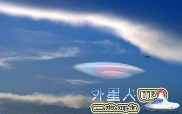 福建厦门上空出现UFO云团奇观2014年8月4日