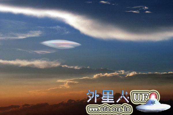 福建厦门上空出现UFO云团奇观2014年8月4日的图片 第2张