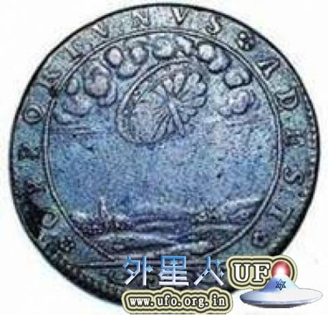 17世纪法国古币上的UFO之谜解密的图片