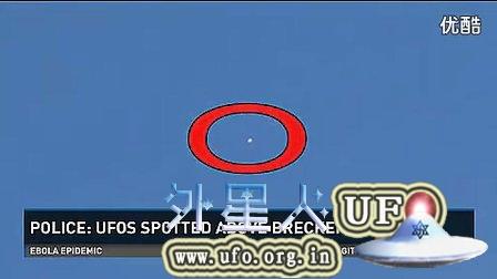 2014年10月3日警察看到UFO 美国科罗拉多州新闻报道的图片