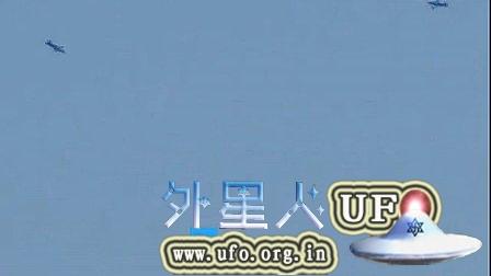 2014年10月6日UFO惊现美国西岸上空的图片