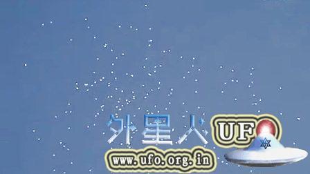2014年10月23日众多UFO成群在墨西哥上空出没的图片