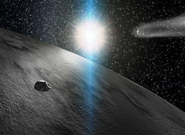 私人公司欲把小行星变星际加油站的图片