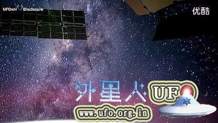 2014年11月11日国际空间站拍到绿色银河母舰的图片