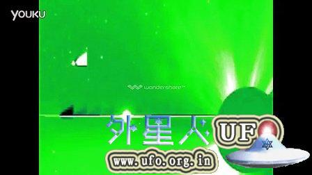 2014年11月12日太阳周围巨大的扇形UFO的图片
