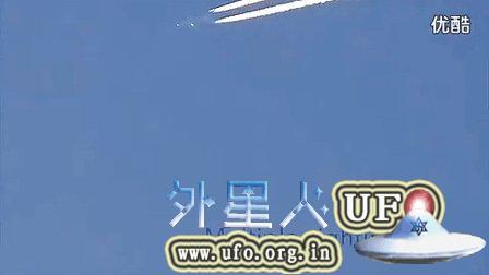 2014年11月7日亚特兰大上空伪装成飞机的UFO的图片